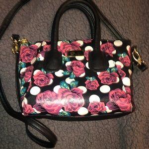 Betsey Johnson small handbag (w/ crossbody strap)